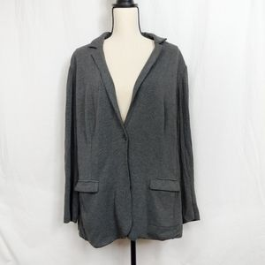Magaschoni Gray Cardigan 3X